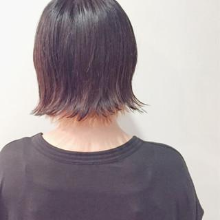 ショートボブ モード ショート ウルフカット ヘアスタイルや髪型の写真・画像