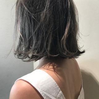 モード 透明感 おかっぱ 秋 ヘアスタイルや髪型の写真・画像