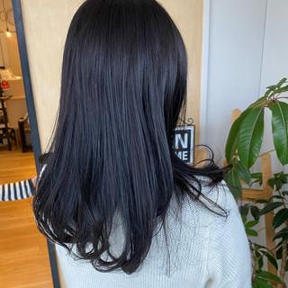 ロング グラデーションカラー 透明感カラー ヘアカラー ヘアスタイルや髪型の写真・画像