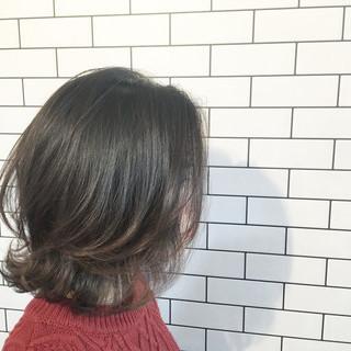 パート フェミニン ショート バイト ヘアスタイルや髪型の写真・画像