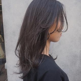 セミロング レイヤーカット ナチュラル ロング ヘアスタイルや髪型の写真・画像