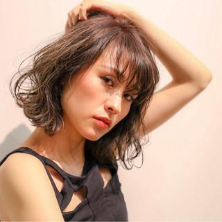 モード ハイライト 外国人風 ボブ ヘアスタイルや髪型の写真・画像