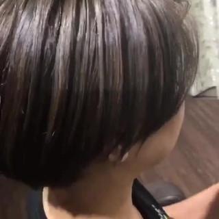 大人ハイライト スポーツ 韓国風ヘアー ショート ヘアスタイルや髪型の写真・画像