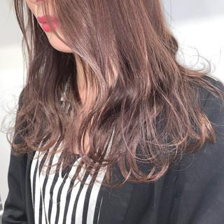 3Dカラー ロング イルミナカラー デザインカラー ヘアスタイルや髪型の写真・画像