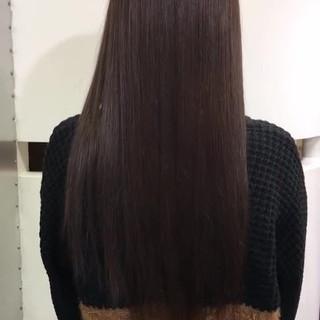 髪質改善 ロング ナチュラル 最新トリートメント ヘアスタイルや髪型の写真・画像