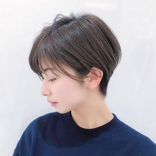ショート デート ハイライト レイヤー ヘアスタイルや髪型の写真・画像 ヘアスタイルや髪型の写真・画像