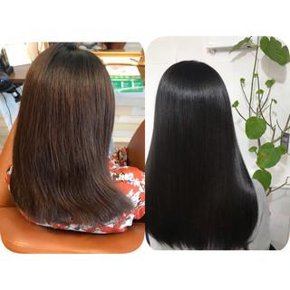 ナチュラル 美髪 ロング トリートメント ヘアスタイルや髪型の写真・画像 ヘアスタイルや髪型の写真・画像