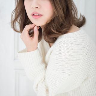 外国人風 大人かわいい 前髪あり ストリート ヘアスタイルや髪型の写真・画像