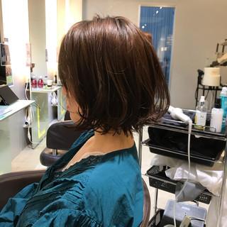 ワンカールスタイリング ワンカール フェミニン 黒髪 ヘアスタイルや髪型の写真・画像