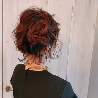 ゆるナチュラル 結婚式髪型 大人女子 モード ヘアスタイルや髪型の写真・画像