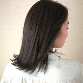 ヘアカラー ボブ スモーキーカラー ナチュラル ヘアスタイルや髪型の写真・画像 ヘアスタイルや髪型の写真・画像