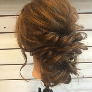 ヘアアレンジ ロング 着物 アップスタイル ヘアスタイルや髪型の写真・画像