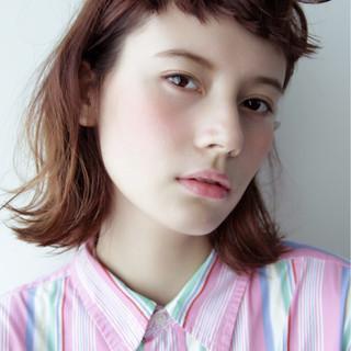 ピュア ボブ ヘアアレンジ ストリート ヘアスタイルや髪型の写真・画像
