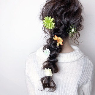 結婚式 成人式 ヘアアレンジ 女子力 ヘアスタイルや髪型の写真・画像