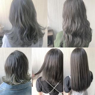 フェミニン 大人女子 セミロング 大人かわいい ヘアスタイルや髪型の写真・画像
