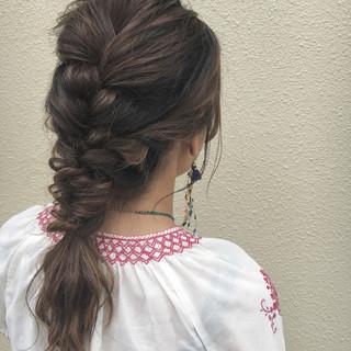 大人かわいい 夏 ロング 色気 ヘアスタイルや髪型の写真・画像