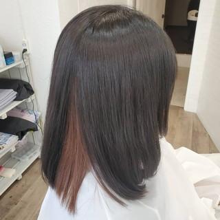 艶髪 縮毛矯正名古屋市 縮毛矯正 縮毛矯正ストカール ヘアスタイルや髪型の写真・画像