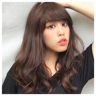 大人かわいい ストリート 暗髪 ロング ヘアスタイルや髪型の写真・画像