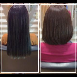 ナチュラル バレイヤージュ 大人ヘアスタイル 髪質改善カラー ヘアスタイルや髪型の写真・画像