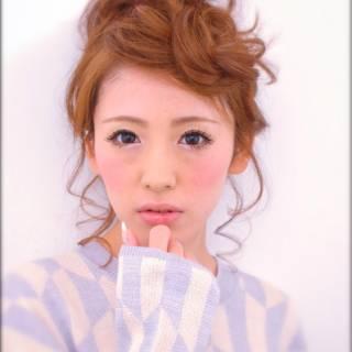 フェミニン モテ髪 コンサバ 編み込み ヘアスタイルや髪型の写真・画像