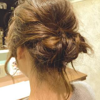 ヘアアレンジ ショート 編み込み セミロング ヘアスタイルや髪型の写真・画像 ヘアスタイルや髪型の写真・画像