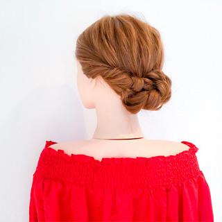 オフィス ヘアアレンジ デート 上品 ヘアスタイルや髪型の写真・画像