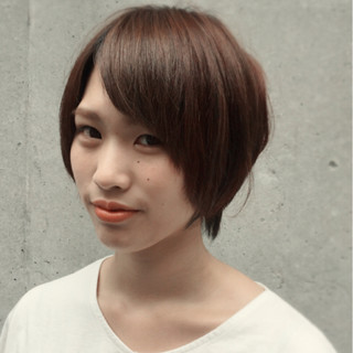 ナチュラル マッシュ 大人女子 夏 ヘアスタイルや髪型の写真・画像