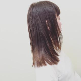 ロング グラデーションカラー 外国人風 ストリート ヘアスタイルや髪型の写真・画像