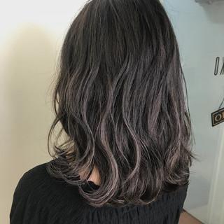 グラデーションカラー ハイライト 女子力 ナチュラル ヘアスタイルや髪型の写真・画像