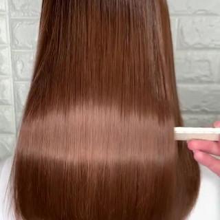 髪質改善 ミディアム ヘアアレンジ ナチュラル ヘアスタイルや髪型の写真・画像