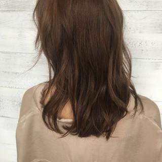 透明感 大人かわいい ナチュラル パーマ ヘアスタイルや髪型の写真・画像