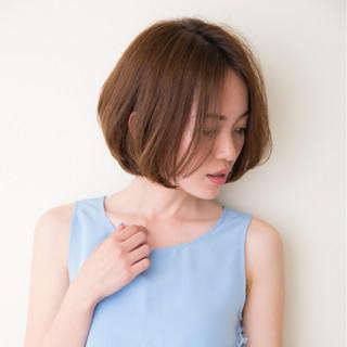 色気 ショート ボブ ワンカール ヘアスタイルや髪型の写真・画像 ヘアスタイルや髪型の写真・画像