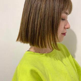 デート ボブ 成人式 ストリート ヘアスタイルや髪型の写真・画像
