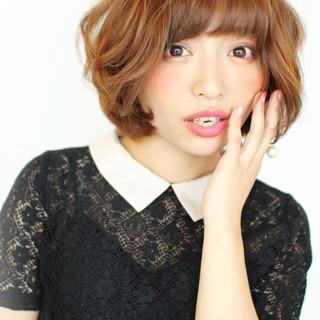 かわいい ゆるふわ モテ髪 ナチュラル ヘアスタイルや髪型の写真・画像