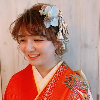 ヘアアレンジ フェミニン 外国人風 ゆるナチュラル ヘアスタイルや髪型の写真・画像