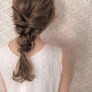 簡単ヘアアレンジ ヘアアレンジ 結婚式 アンニュイほつれヘア ヘアスタイルや髪型の写真・画像