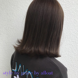 外国人風カラー アッシュ モード グレージュ ヘアスタイルや髪型の写真・画像 ヘアスタイルや髪型の写真・画像