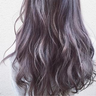 暗髪 ストリート 外国人風カラー ロング ヘアスタイルや髪型の写真・画像