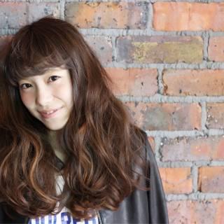 ストリート 大人かわいい ガーリー モテ髪 ヘアスタイルや髪型の写真・画像