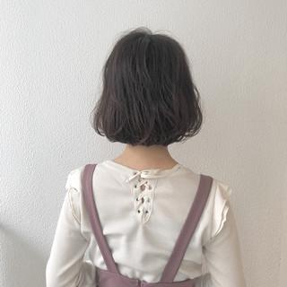 ショートボブ ボブ 外ハネ ショート ヘアスタイルや髪型の写真・画像