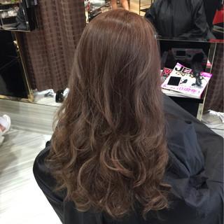 外国人風 グレージュ 渋谷系 ベージュ ヘアスタイルや髪型の写真・画像