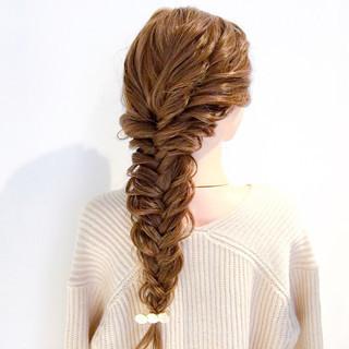 デート ロング ヘアアレンジ 結婚式 ヘアスタイルや髪型の写真・画像 ヘアスタイルや髪型の写真・画像
