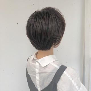 外国人風カラー ナチュラル ボブ ショートボブ ヘアスタイルや髪型の写真・画像