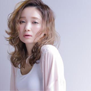 ストリート グラデーションカラー ミディアム 外国人風 ヘアスタイルや髪型の写真・画像