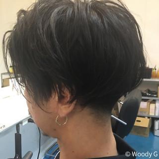 刈り上げ ボーイッシュ ショート メンズ ヘアスタイルや髪型の写真・画像