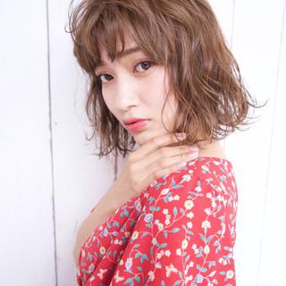 大人かわいい ナチュラル 涼しげ 夏 ヘアスタイルや髪型の写真・画像