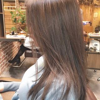 ハイライト ナチュラル ロング アンニュイほつれヘア ヘアスタイルや髪型の写真・画像 ヘアスタイルや髪型の写真・画像
