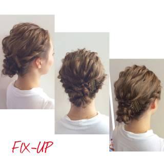 フェミニン モテ髪 愛され ヘアアレンジ ヘアスタイルや髪型の写真・画像