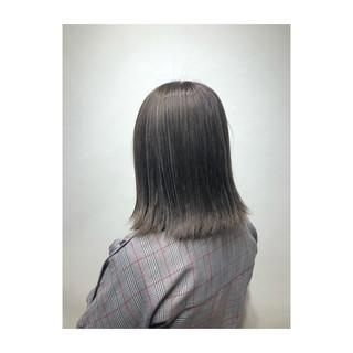透明感 ハイライト 春 モード ヘアスタイルや髪型の写真・画像