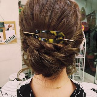 夏 ヘアアレンジ ショート 簡単ヘアアレンジ ヘアスタイルや髪型の写真・画像 ヘアスタイルや髪型の写真・画像